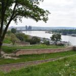 Οπτική του Δούναβη πάνω από το κάστρο του Βελιγραδίου